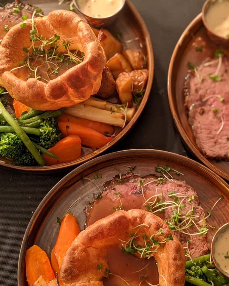 sunday roast edinburgh - Brewhemia
