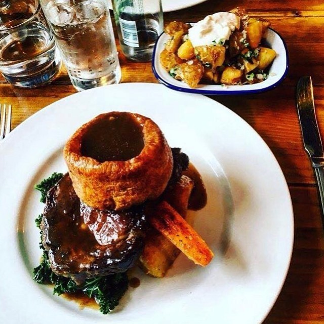 sunday roast Edinburgh - The Ox