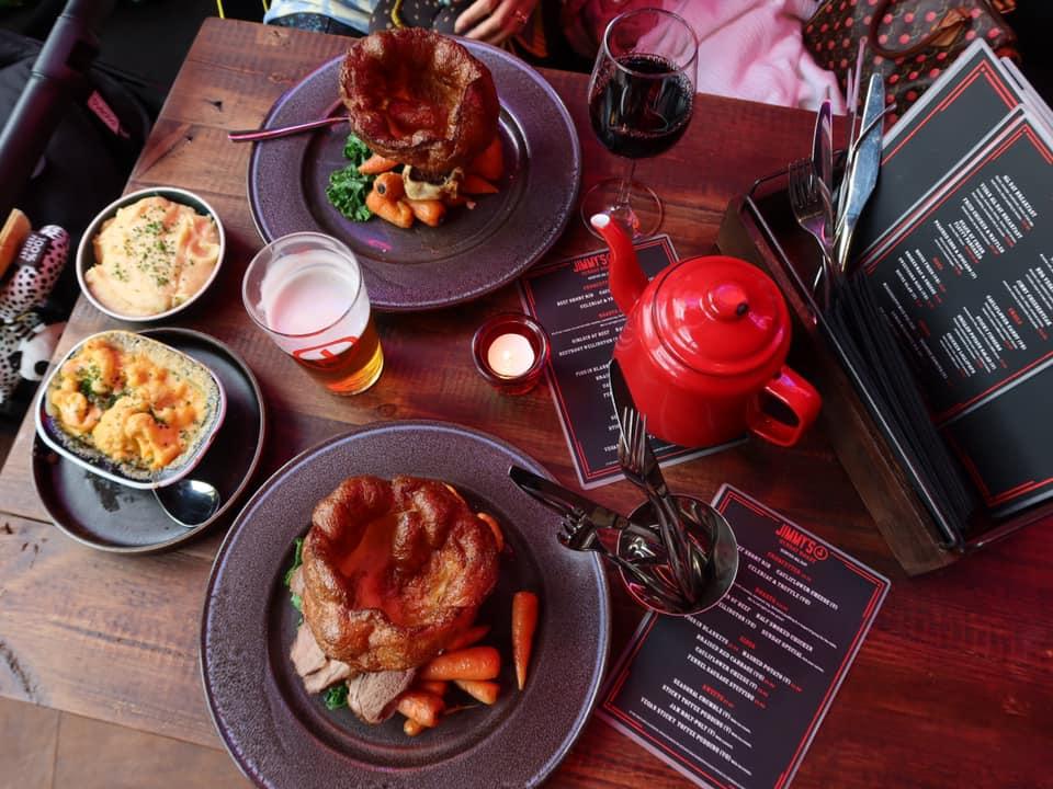 roast dinners Liverpool Jimmys