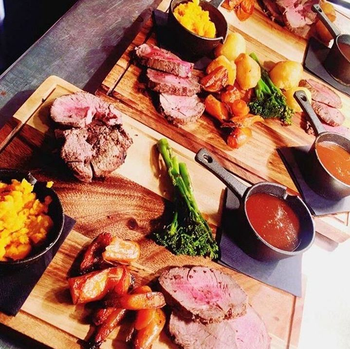 roast dinners Liverpool Bastion at Shankly Hotel